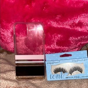 Lashes and iphone11 pro max case